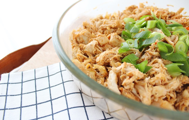 pulled chicken barbecue