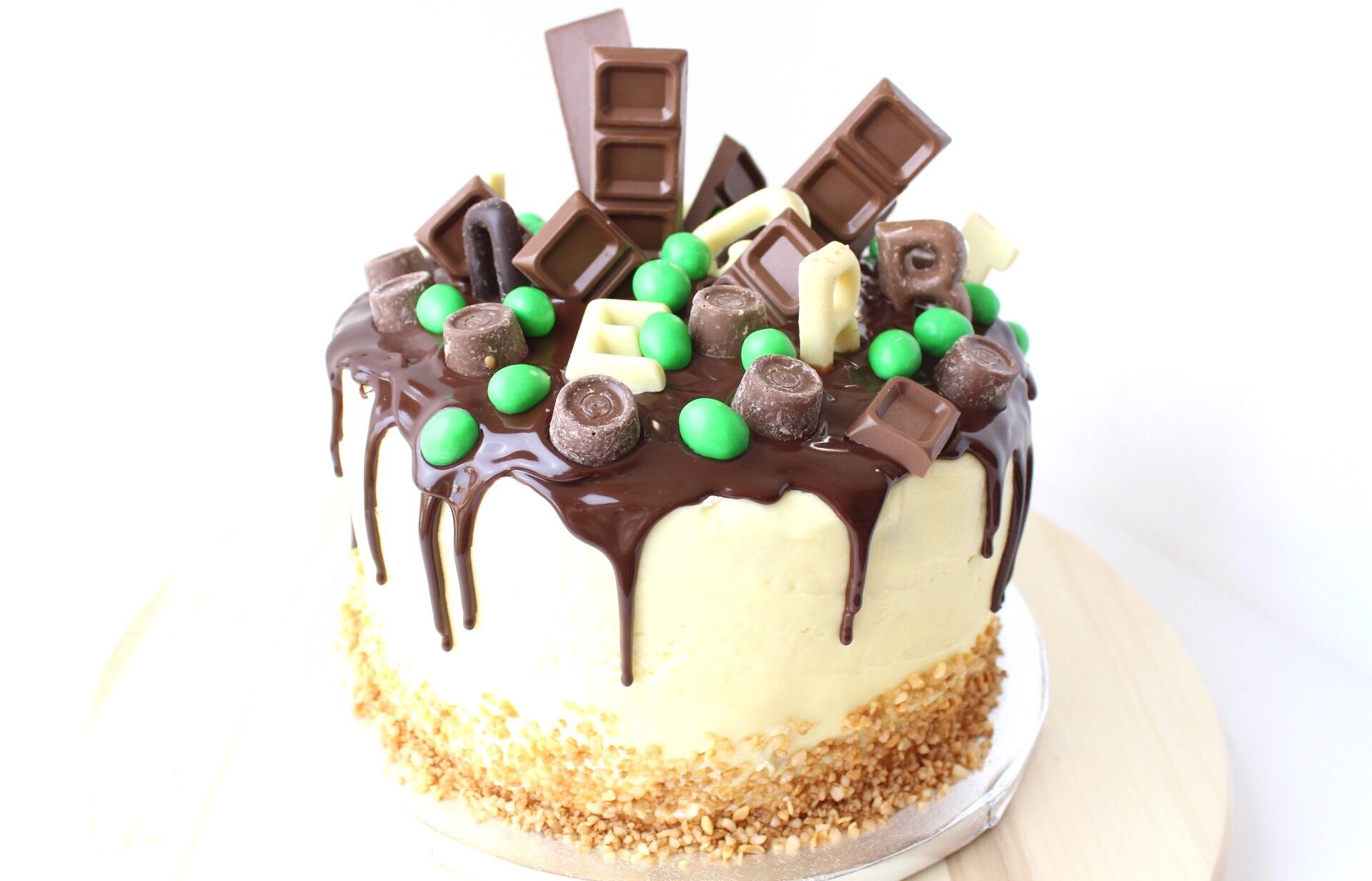 Drip Cake Met Chocolade Ganache Wat Een Feest