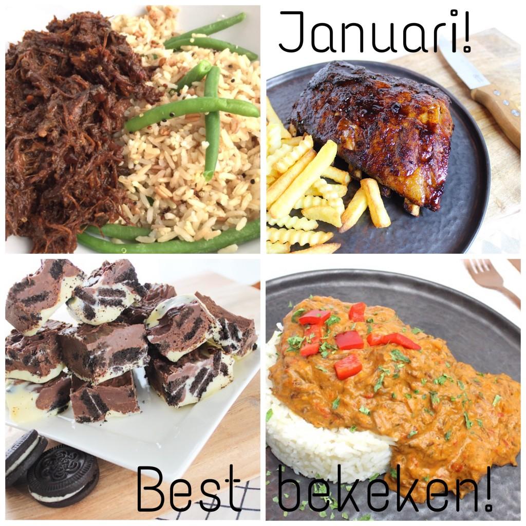 best bekeken recepten van januari