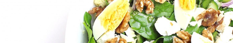 Spinazie salade met couscous