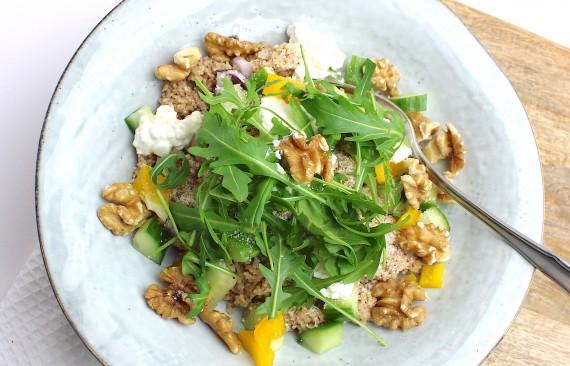 gezonde couscous salade