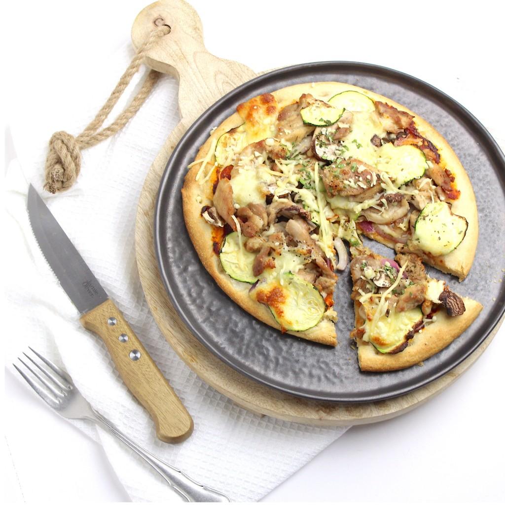 2 variaties bloemkoolpizza