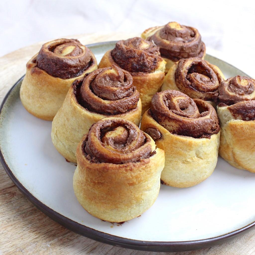 Nutella broodjes
