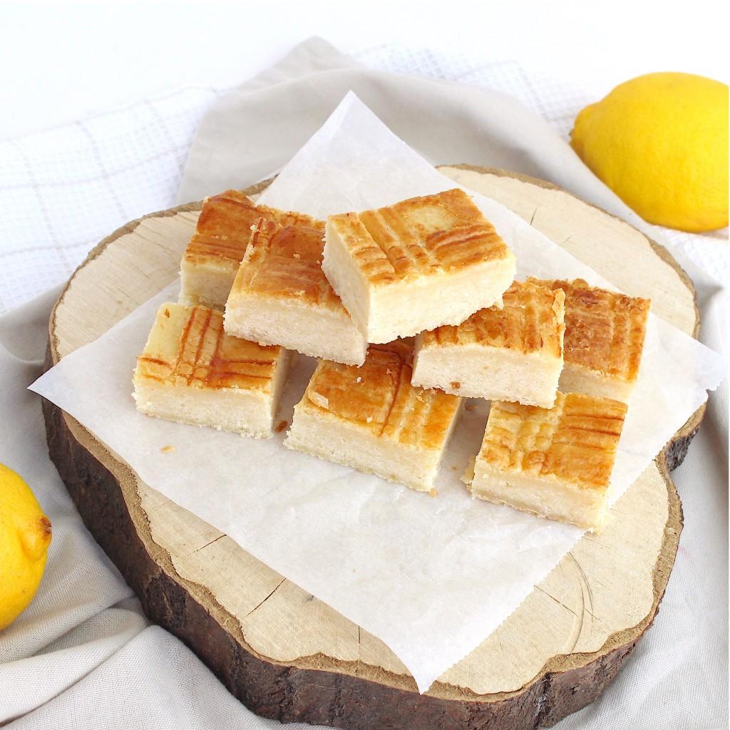 Boterkoek met citroen