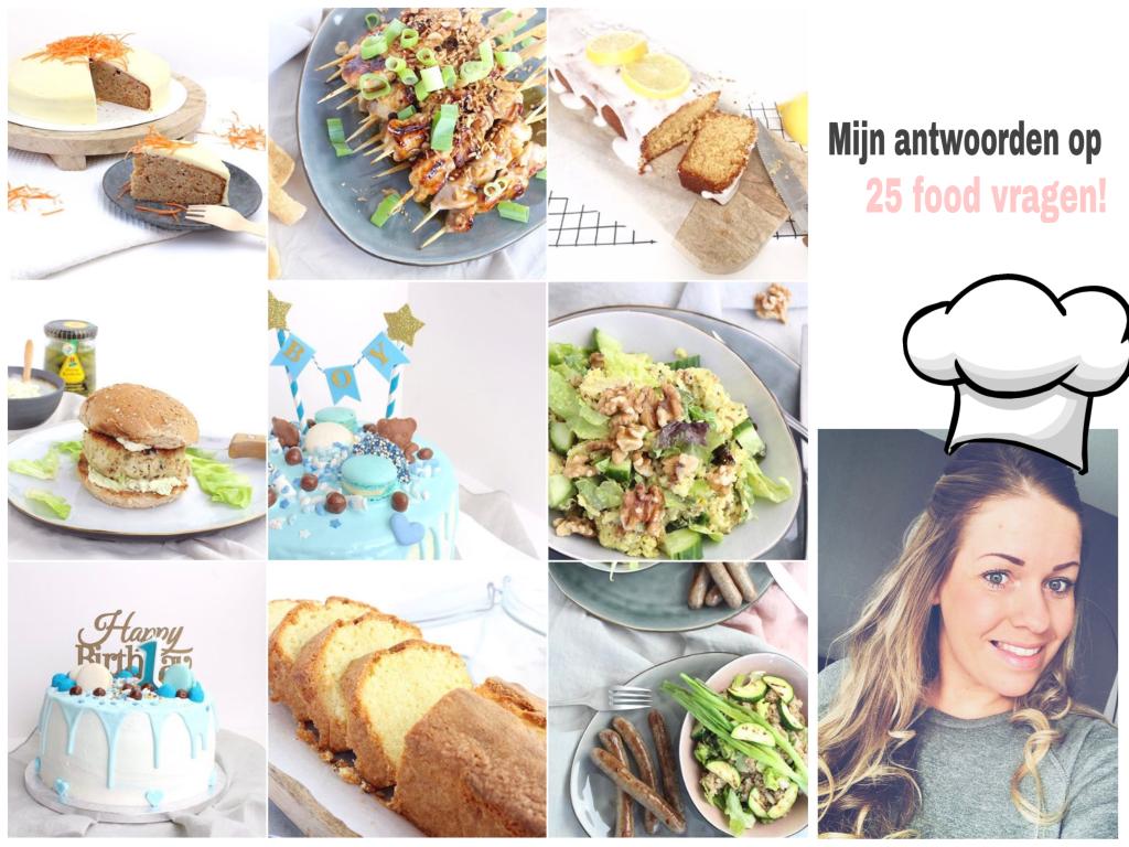 25 food vragen