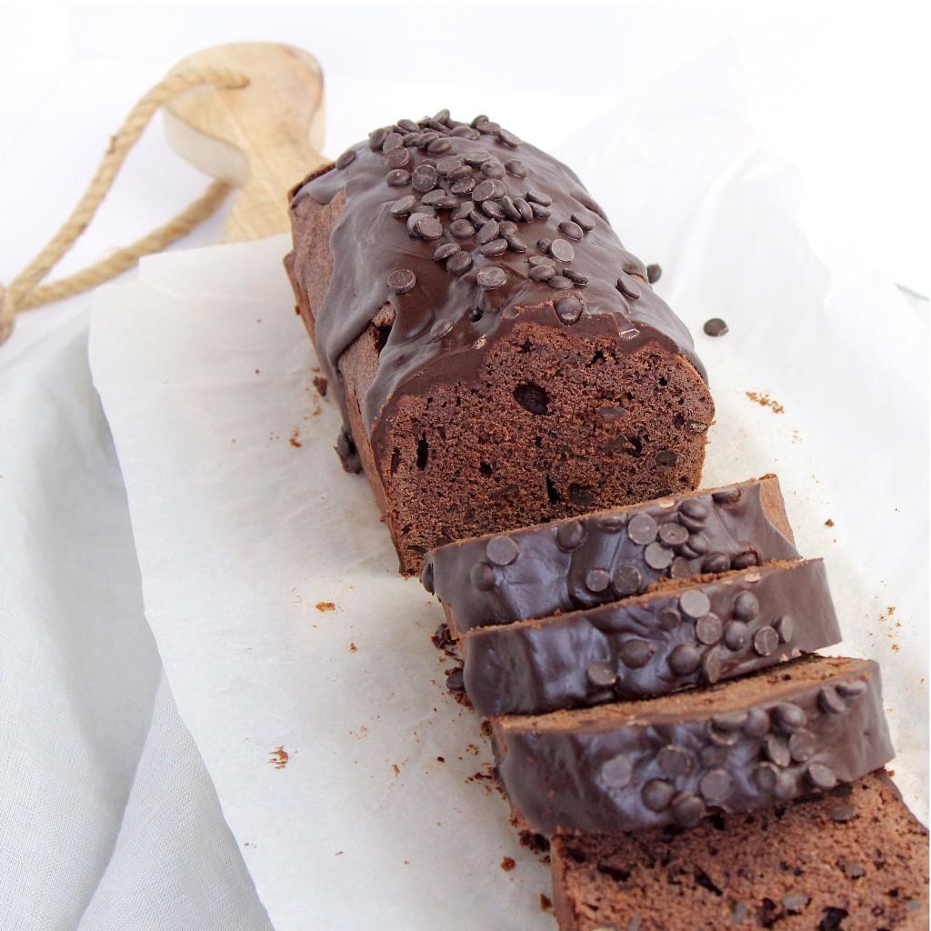 Dubbele chocoladecake