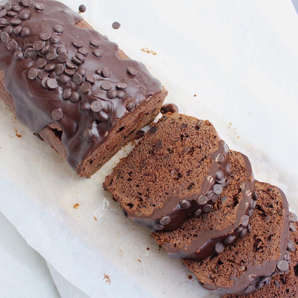 Dubbelechocolade cake