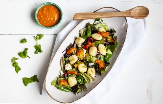 Gnocchi salade