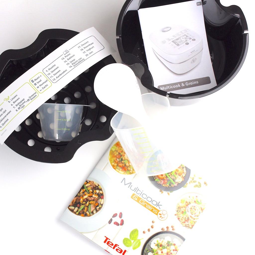 Review Tefal Multicook & Grains met een heerlijk recept