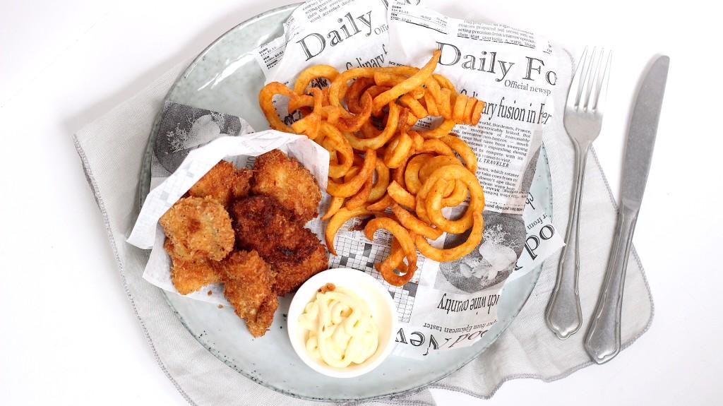 Airfryer recept: Fish & chips